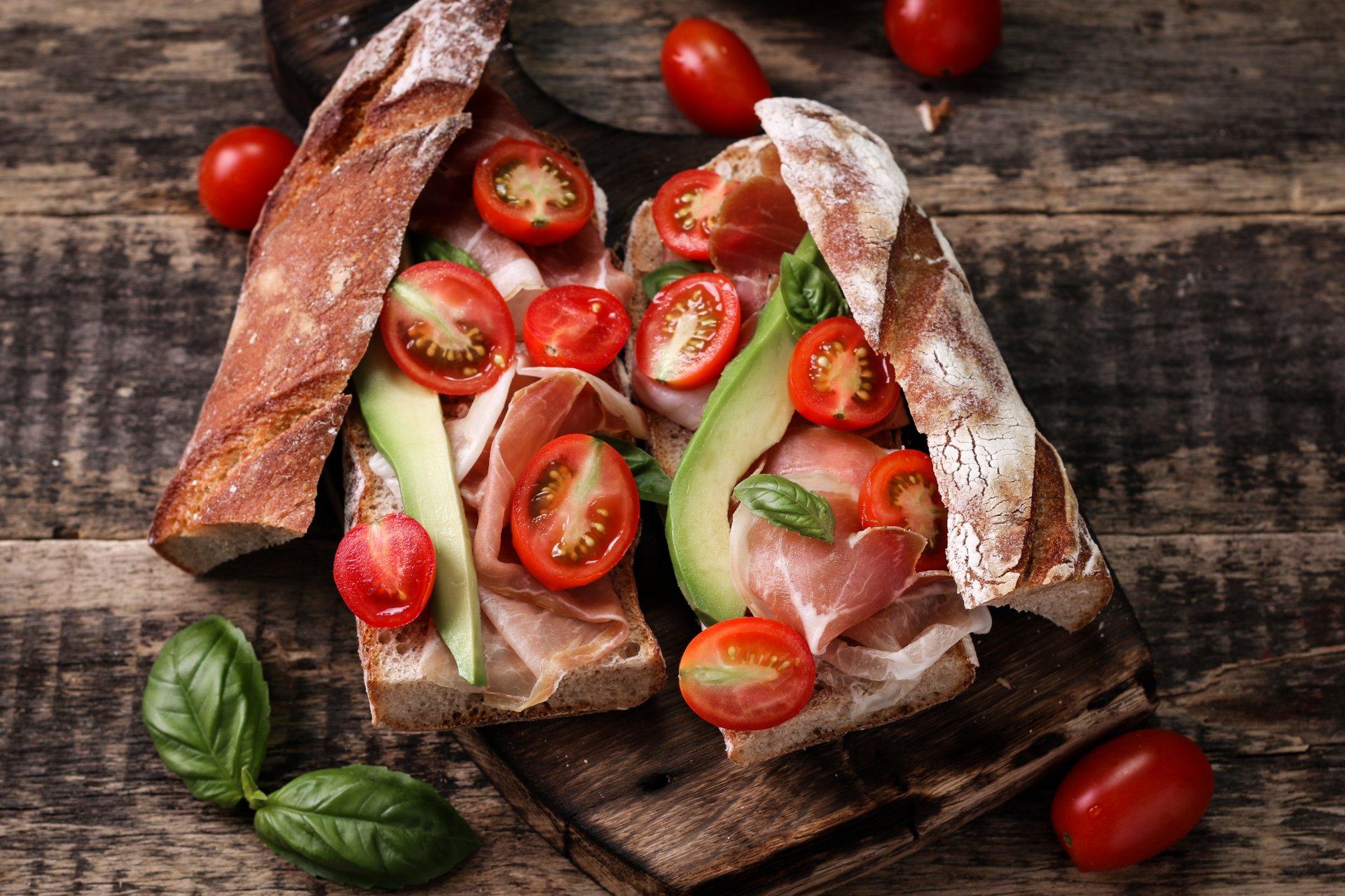 Food - Sandwich  Still Life Tomato Bread Wallpaper
