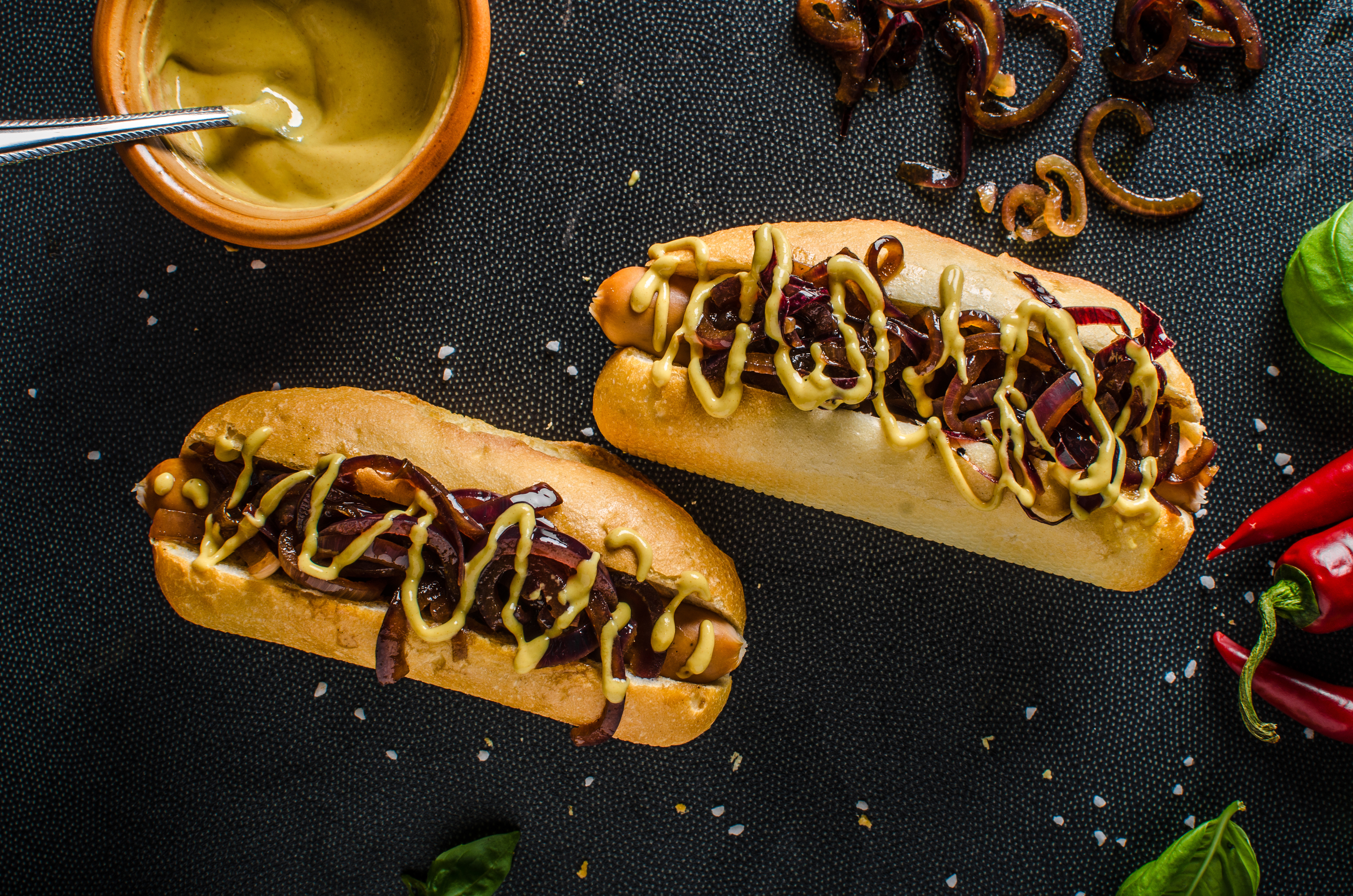 Hot Dog 4k Ultra Hd Wallpaper Background Image 4928x3264