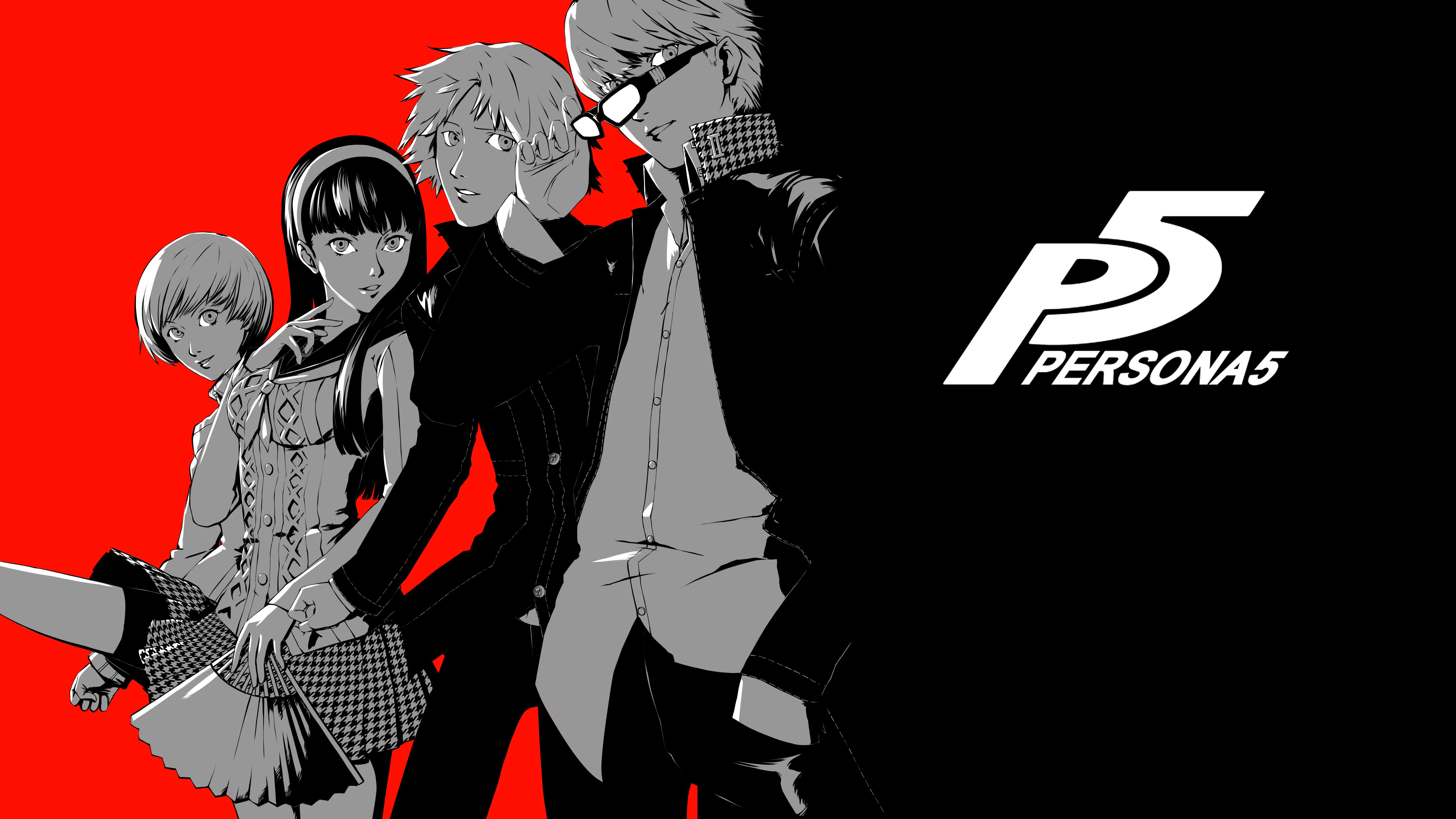 Persona 4 X Persona 5 4k Ultra Fondo De Pantalla Hd Fondo