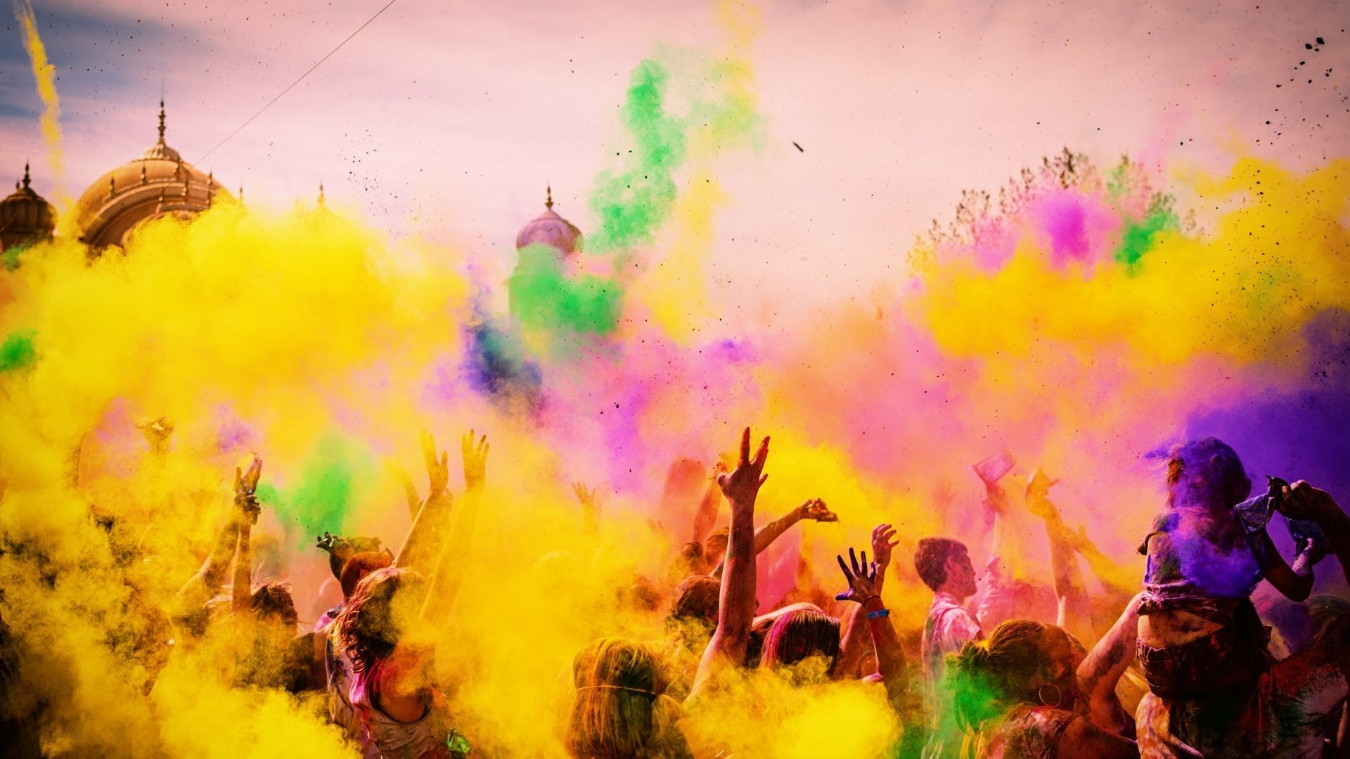 Holiday - Holi  Colors India People Wallpaper