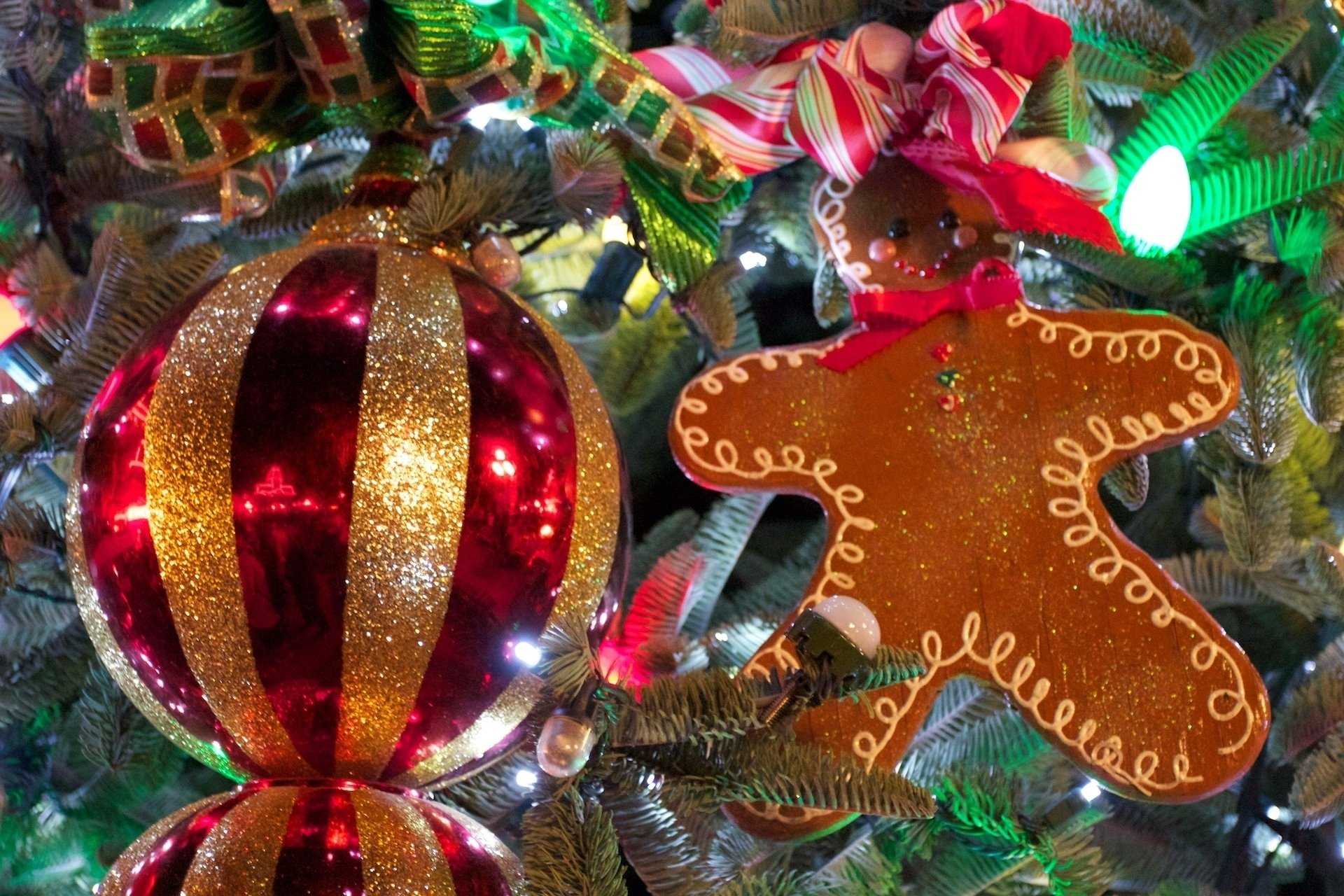 Holiday - Christmas  Decoration Cookie Bauble Wallpaper