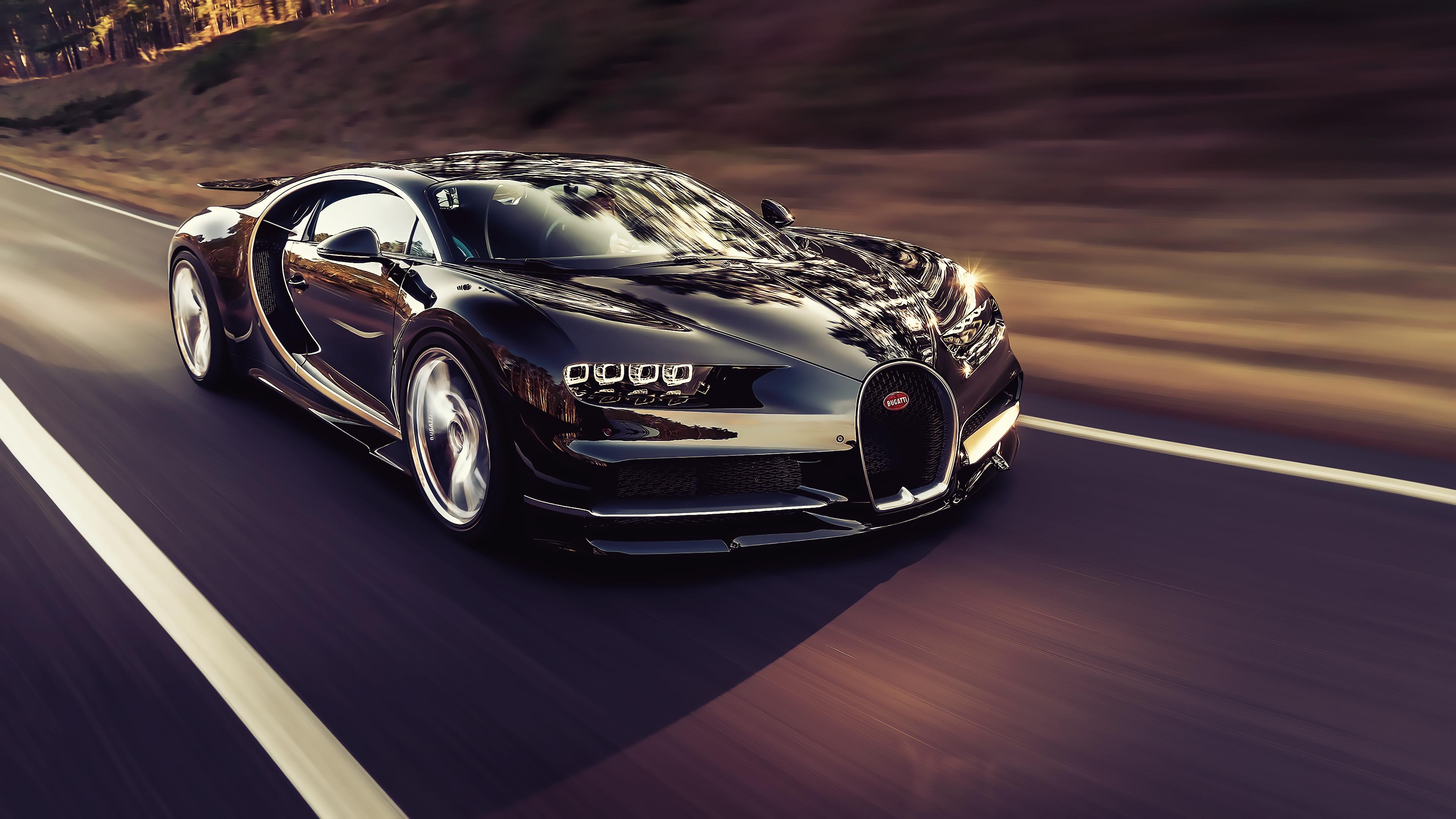 Bugatti Chiron 4k Ultra Hd Wallpaper Background Image 3840x2160