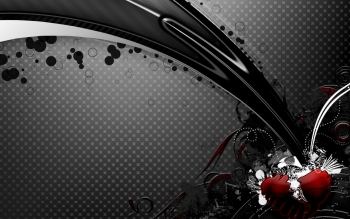Abstract - Black Wallpapers and Backgrounds ID : 88939