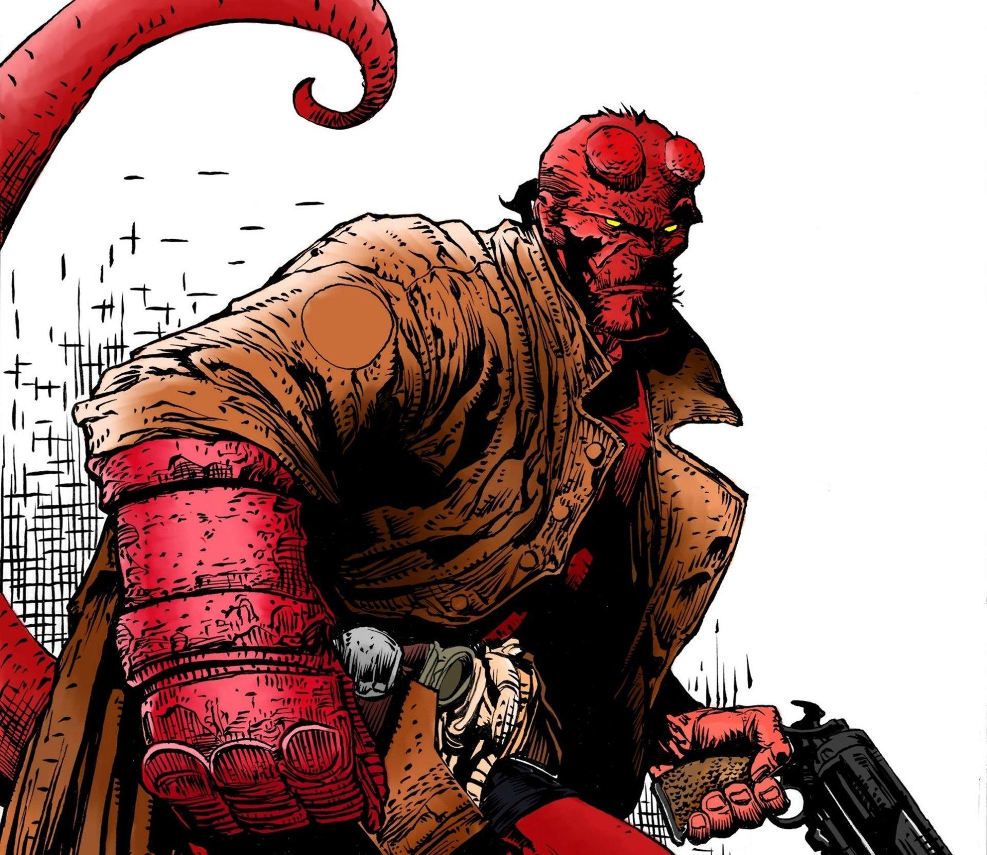 Çizgi Roman - Hellboy  Duvarkağıdı