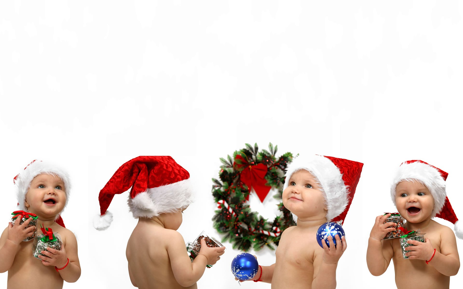 Christmas Baby Images Hd.Christmas Babies Hd Wallpaper Background Image 1920x1200