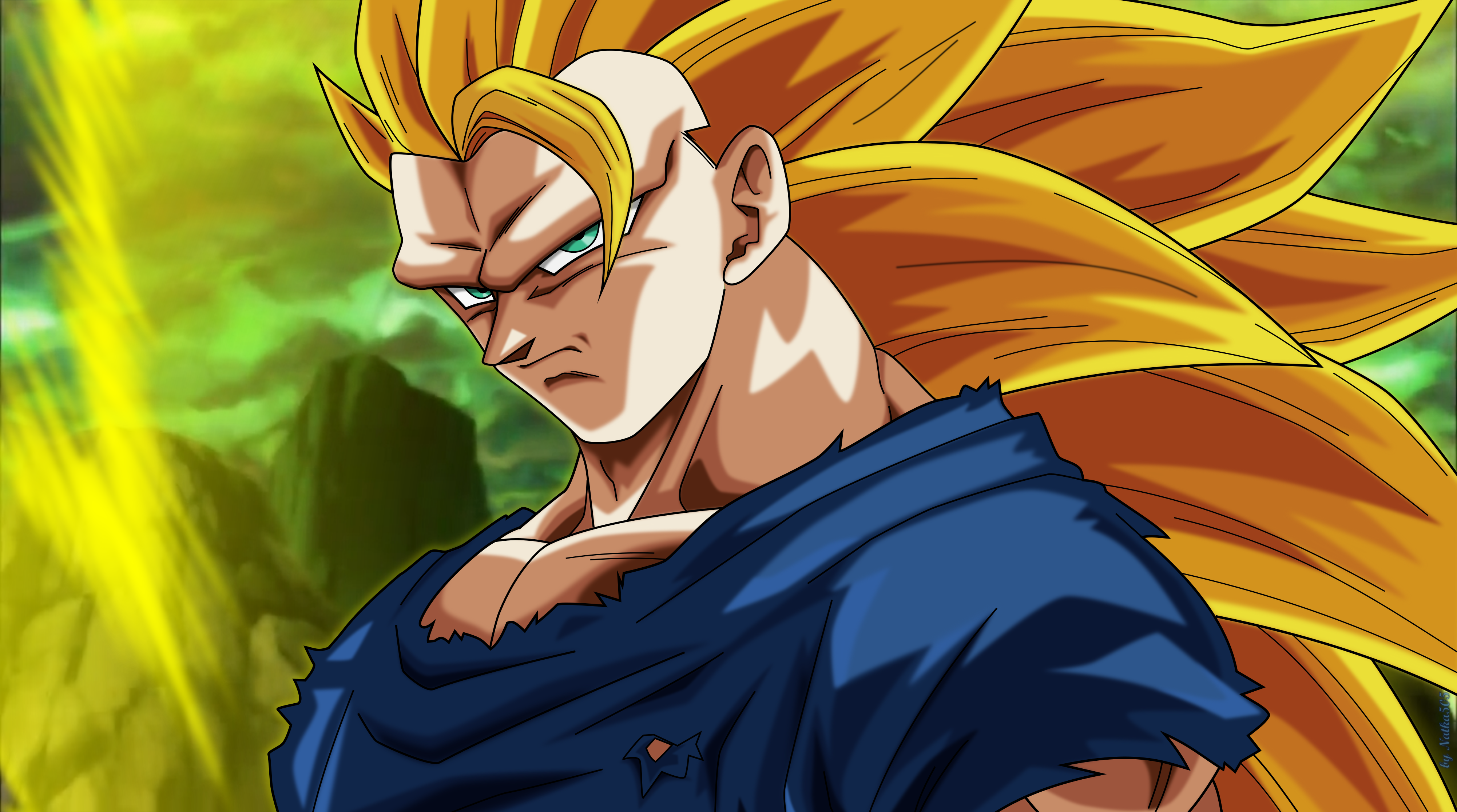 Goku Super Saiyan 3 4k Ultra HD Wallpaper And Background Image