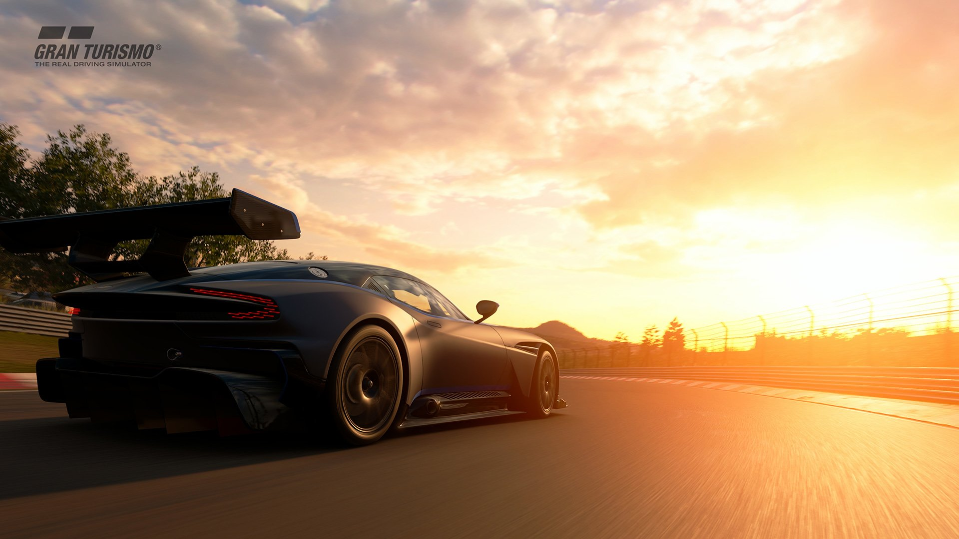 Video Game - Gran Turismo Sport  Aston Martin Vulcan Video Game Car Wallpaper