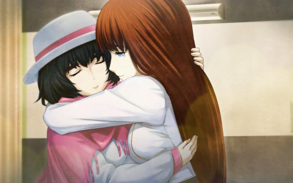 Anime Steins;Gate Mayuri Shiina Kagari Shiina HD Wallpaper | Background Image
