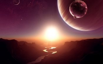 Science-Fiction - Sonnenaufgang Wallpapers and Backgrounds ID : 89357