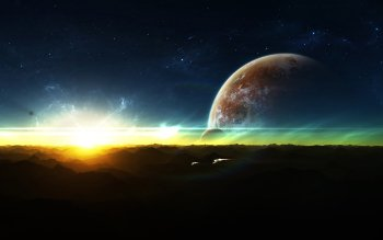 Science-Fiction - Sonnenaufgang Wallpapers and Backgrounds ID : 89359
