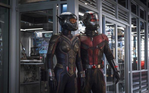 Film Ant-Man et la Guêpe Ant-Man Wasp Paul Rudd Evangeline Lilly Fond d'écran HD | Arrière-Plan