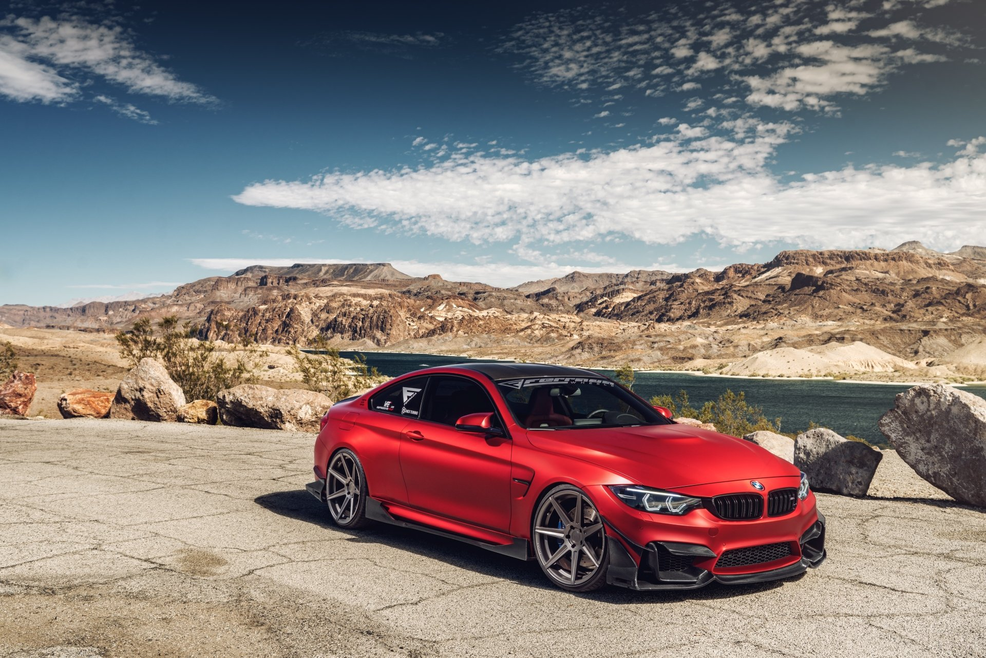 Vehicles - BMW M4  BMW Car Vehicle Sport Car Red Car Wallpaper