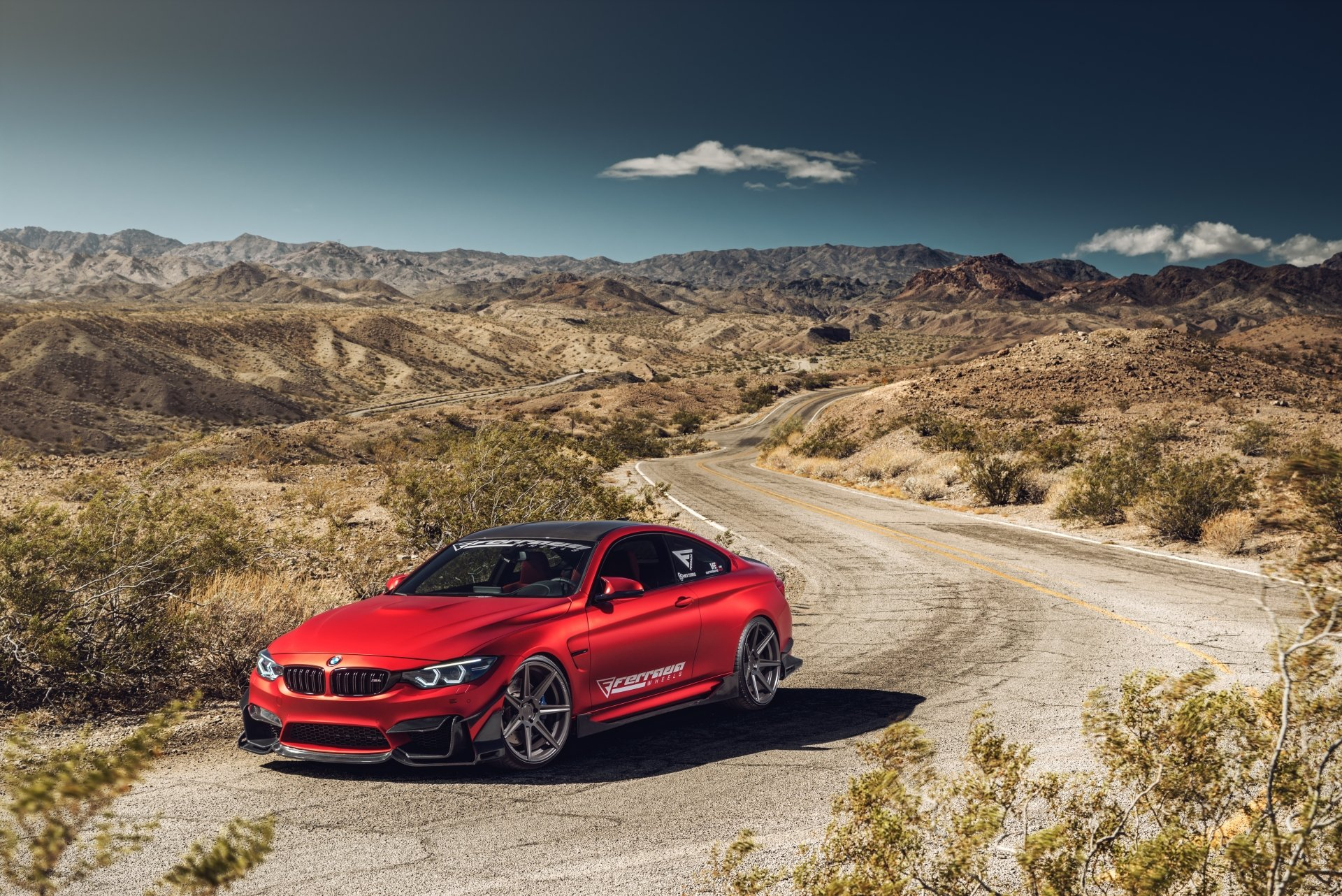 Vehicles - BMW M4  BMW Car Vehicle Sport Car Red Car Wallpaper