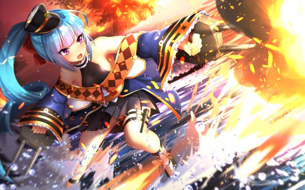 Anime Azur Lane Arethusa HD Wallpaper | Background Image