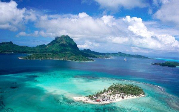 Photography Landscape Beach Tropical Island Eiland Cloud HD Wallpaper | Background Image