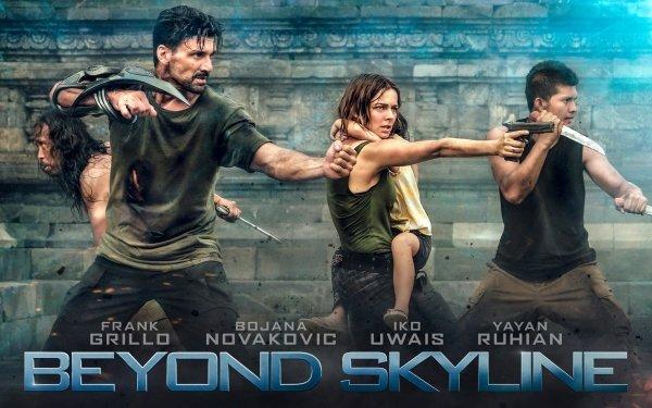 Movie Beyond Skyline Iko Uwais Frank Grillo Bojana Novakovic HD Wallpaper | Background Image