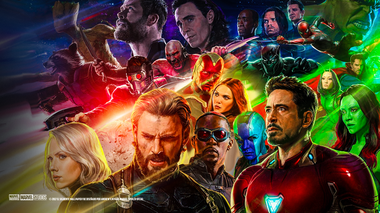 avengers: infinity war wallpaper and hintergrund | 1600x900 | id