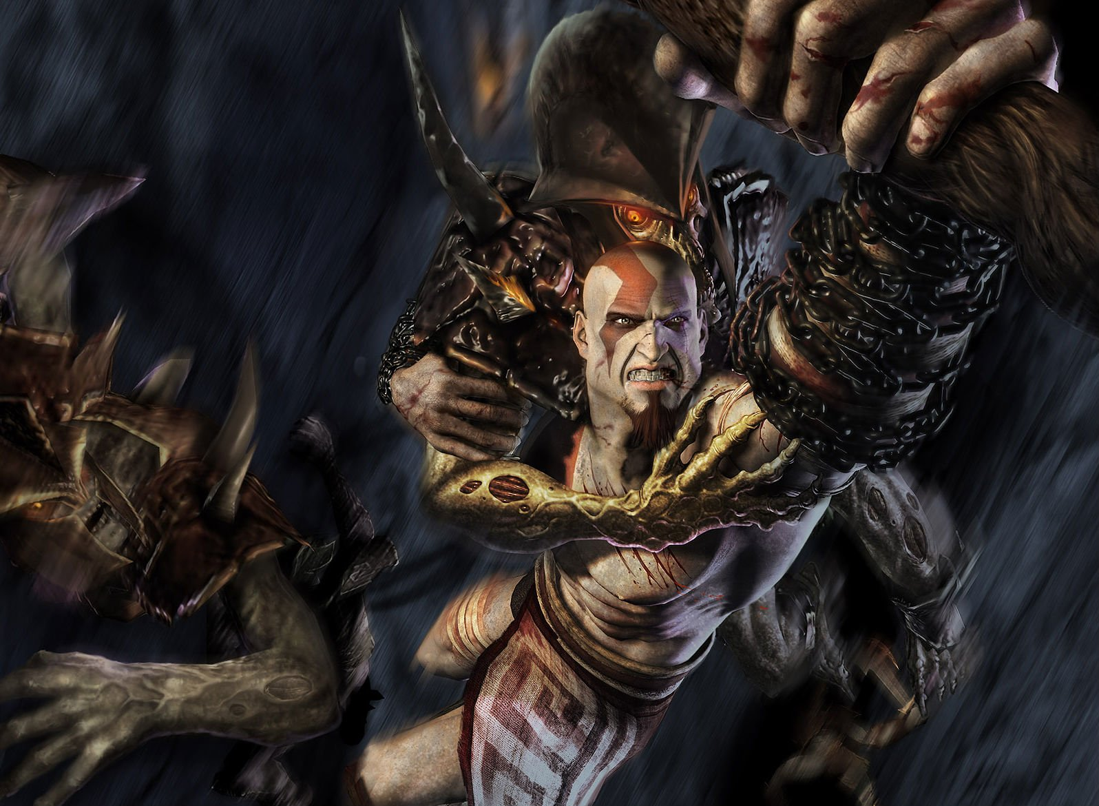 100 Kratos God Of War Hd Wallpapers Background Images