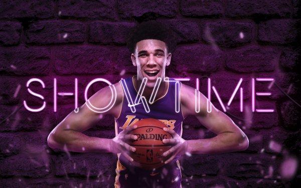Sports NBA Basketball Lonzo Ball Los Angeles Lakers Athlete HD Wallpaper | Background Image