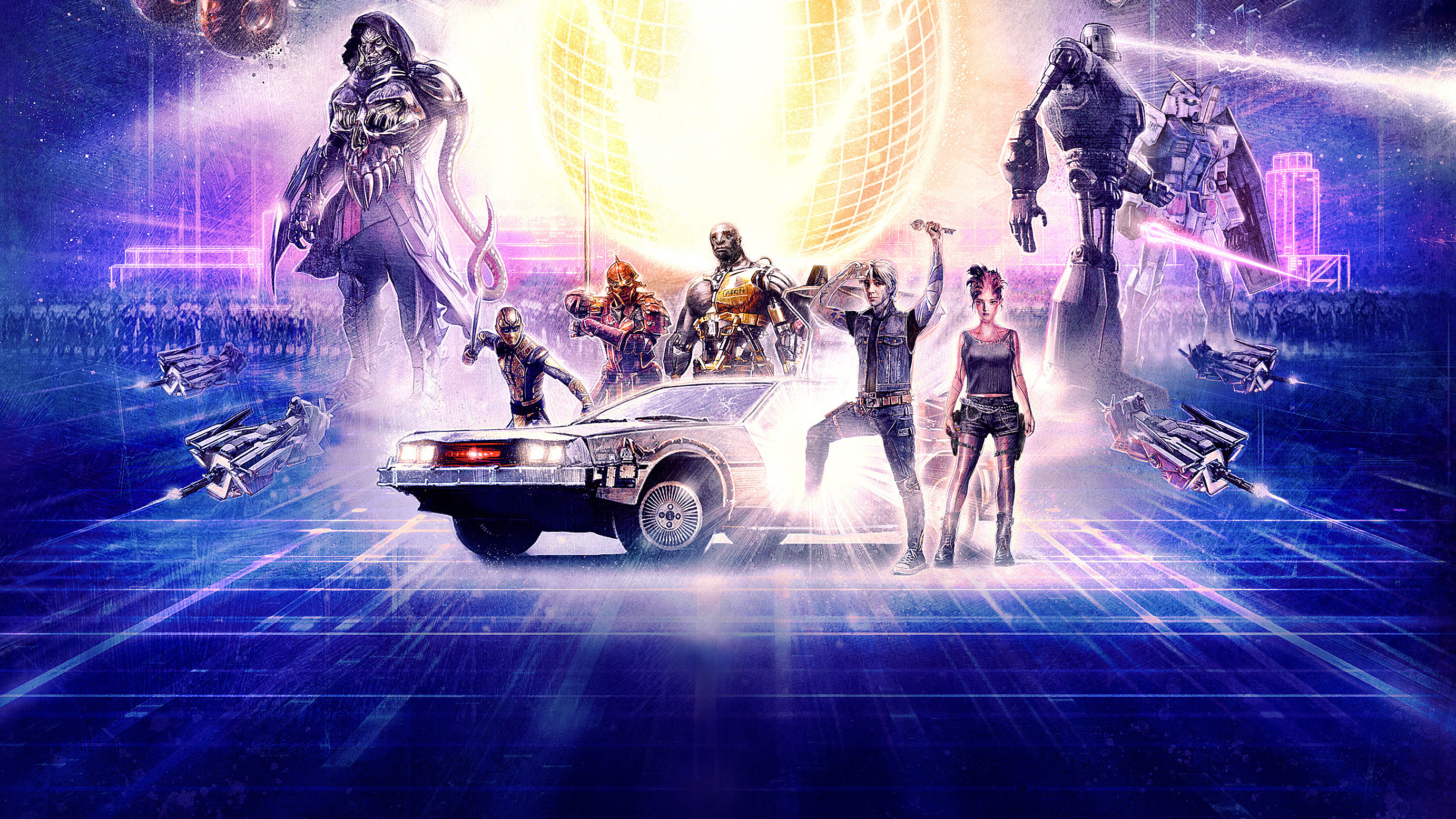 Anime Characters In Ready Player One : Ready player one hd wallpapers background images