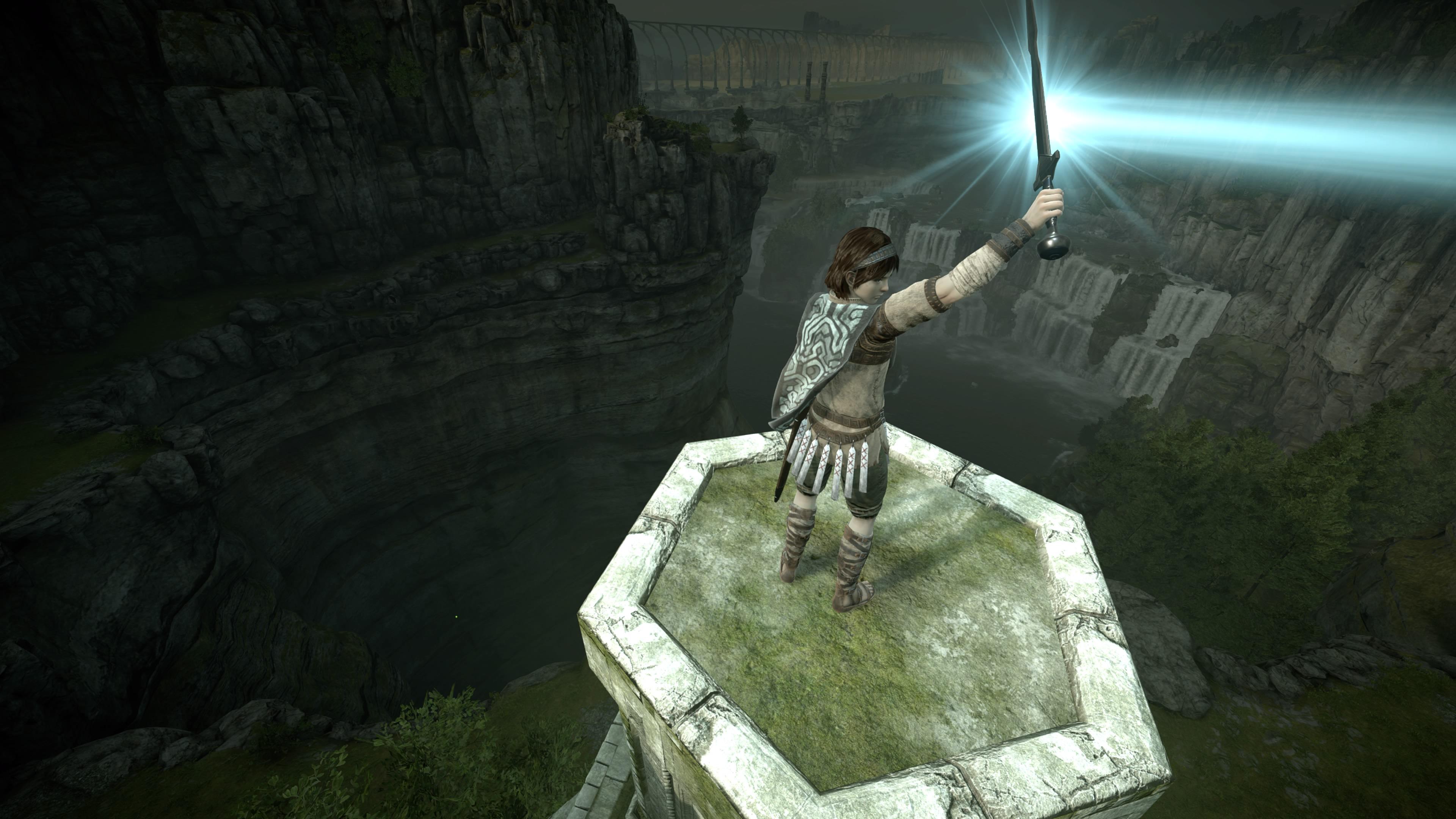 Shadow Of The Colossus 4k Ultra Fondo De Pantalla Hd Fondo