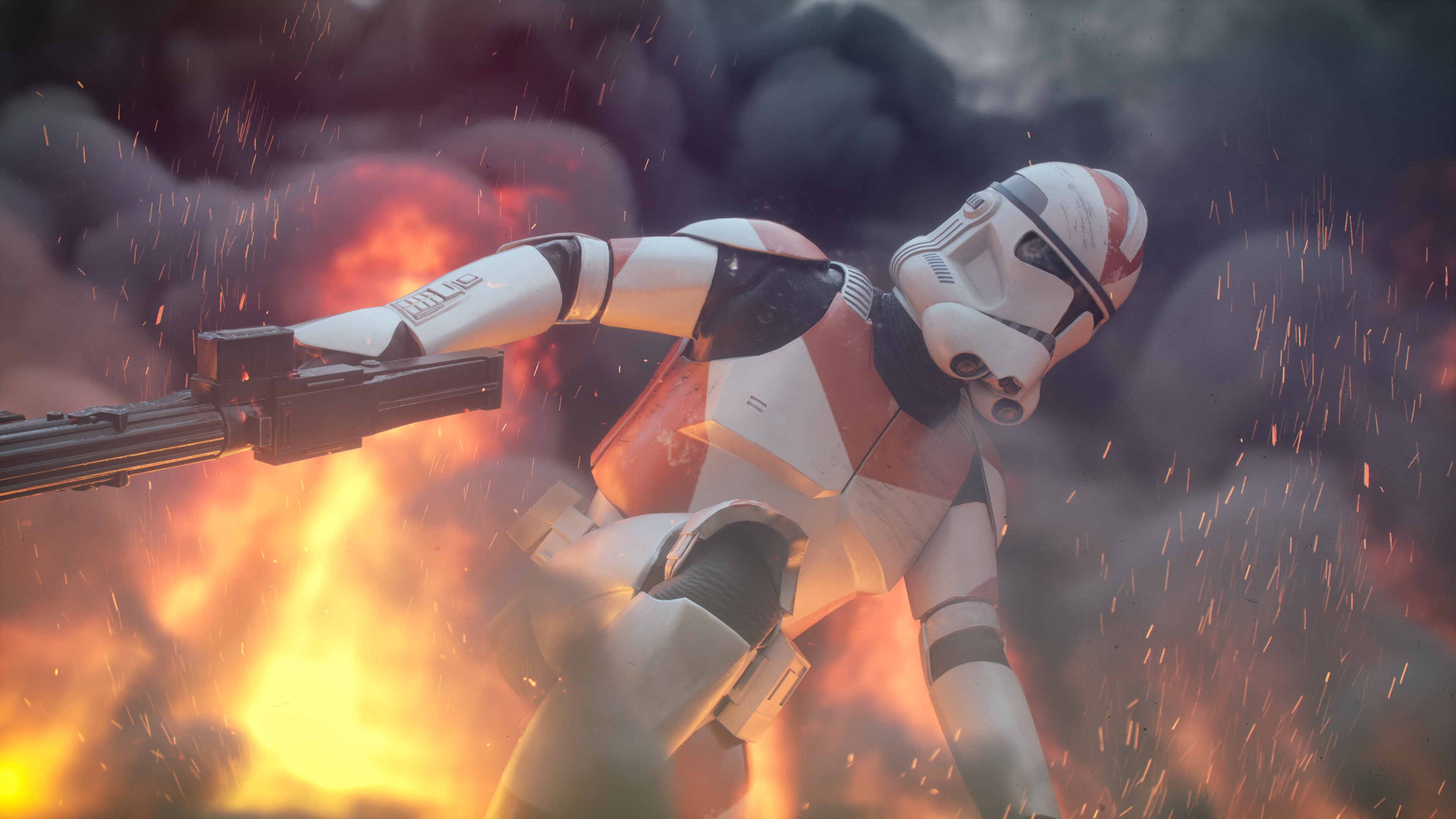 Clone Trooper 212th Battalion 4k Ultra Hd Wallpaper Background Image 3840x2160 Id 904736 Wallpaper Abyss