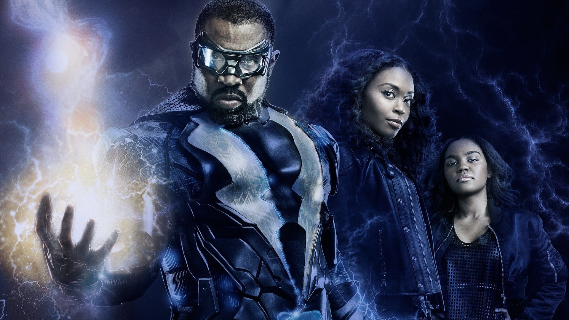 Black Lightning Hd Wallpaper Background Image 1920x1080 Id