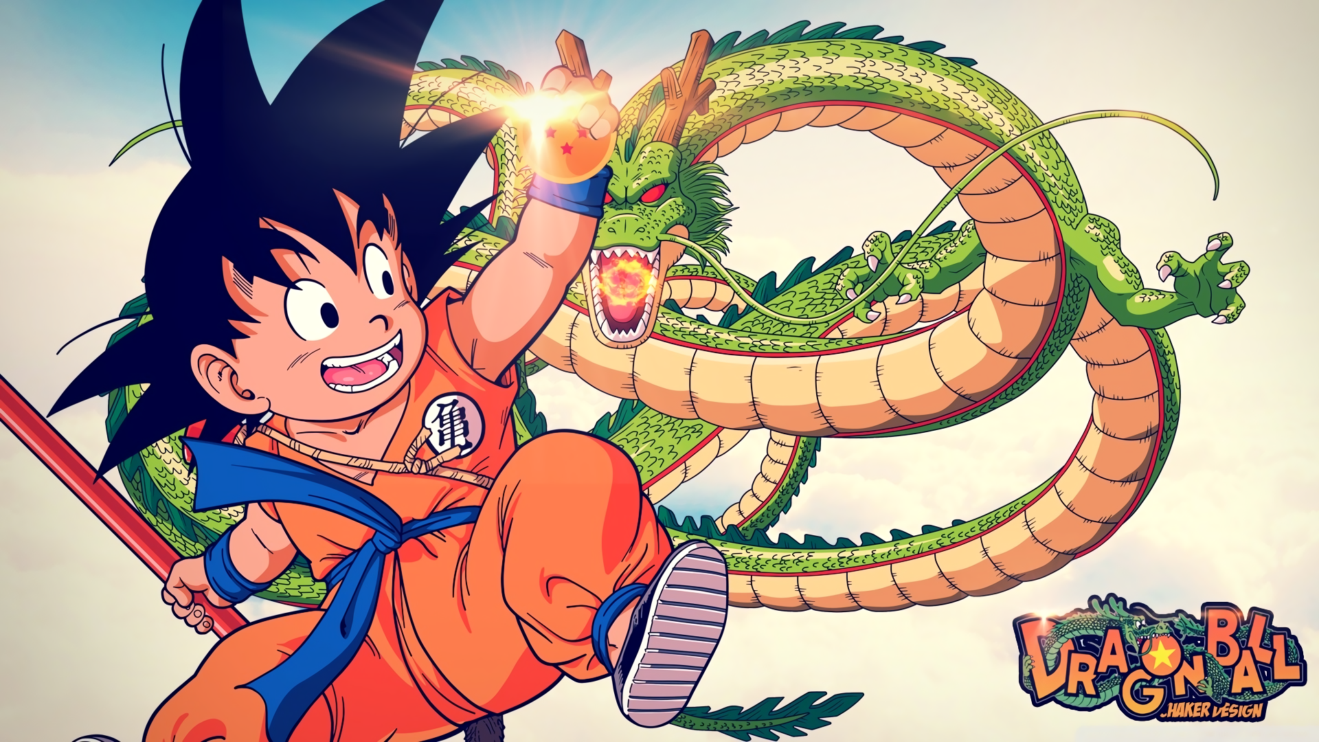 Anime - Dragon Ball  Goku Duvarkağıdı