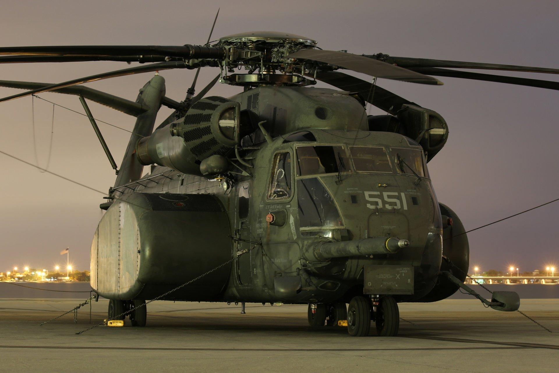 Военные - Sikorsky CH-53E Super Stallion  Transport Aircraft Воздушное Судно Вертолёт Обои