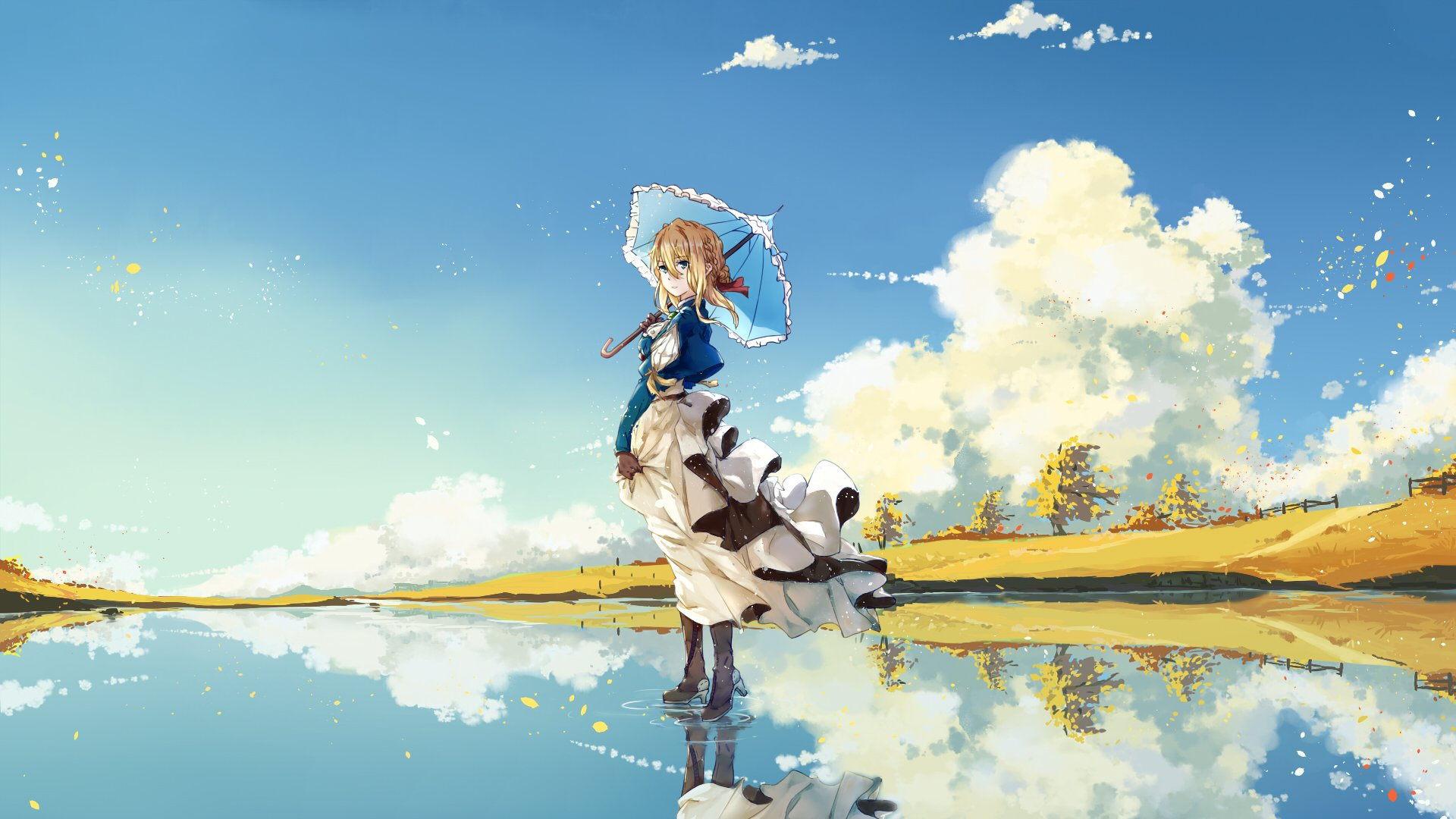 Anime - Violet Evergarden  Violet Evergarden (Character) Bakgrund