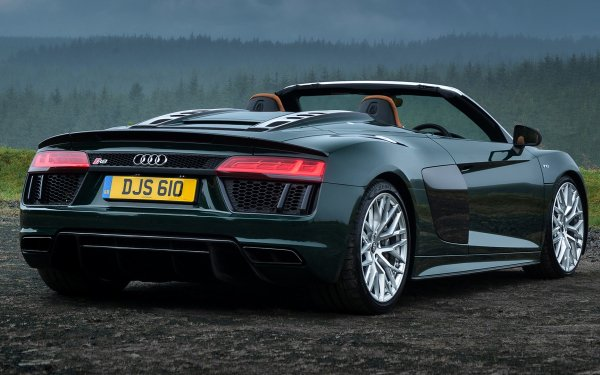 Vehicles Audi R8 Audi Roadster Sport Car Luxury Car Green Car Car HD Wallpaper   Background Image