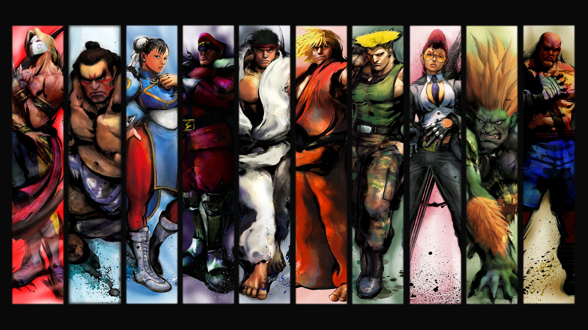 Street fighter full hd wallpaper and background image 1920x1080 video game street fighter wallpaper voltagebd Images