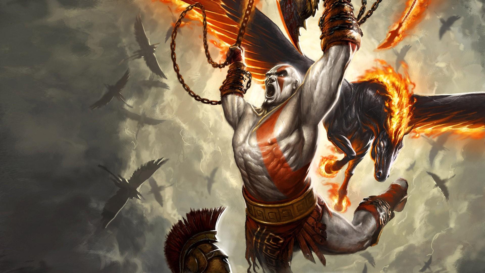 God of war iii full hd wallpaper and background image 1920x1080 video game god of war iii pegasus kratos god of war wallpaper download voltagebd Choice Image