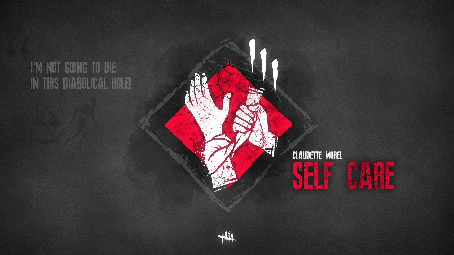 Video Game - Dead by Daylight  Self Care (Dead by Daylight) Claudette Morel (Dead by Daylight) Minimalist Wallpaper