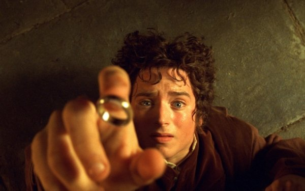 Movie The Lord of the Rings: The Fellowship of the Ring The Lord of the Rings Movies Frodo Baggins Elijah Wood The One Ring HD Wallpaper | Background Image