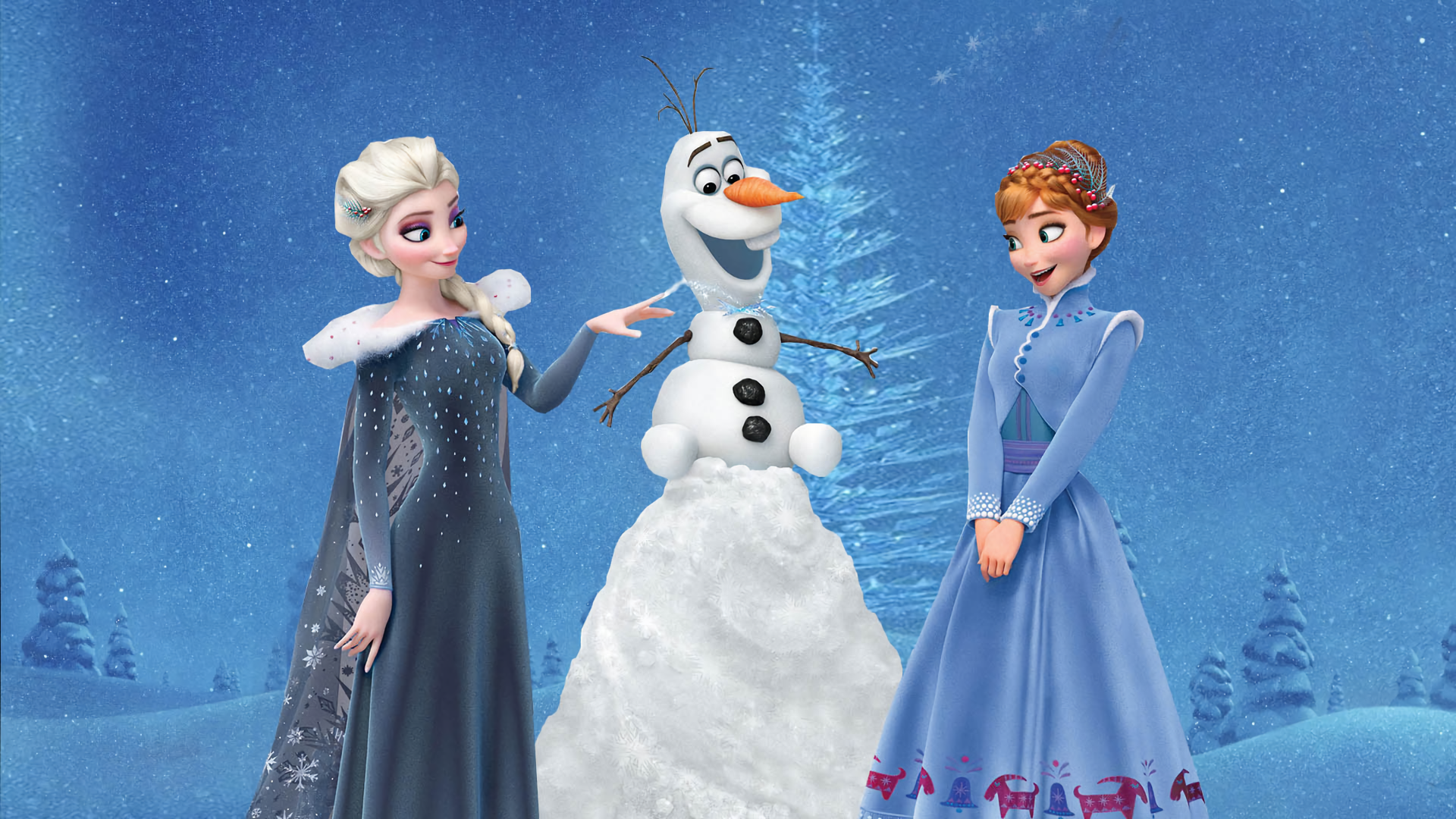 6 Olaf S Frozen Adventure Hd Wallpapers Background Images