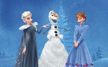 Explore More Wallpapers In The Olafs Frozen Adventure Subcategory