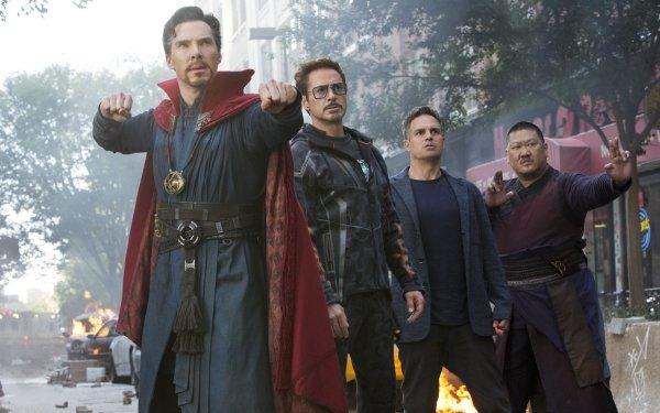 Movie Avengers: Infinity War The Avengers Doctor Strange Tony Stark Iron Man Bruce Banner Wong Benedict Cumberbatch Robert Downey Jr. Mark Ruffalo Benedict Wong HD Wallpaper | Background Image