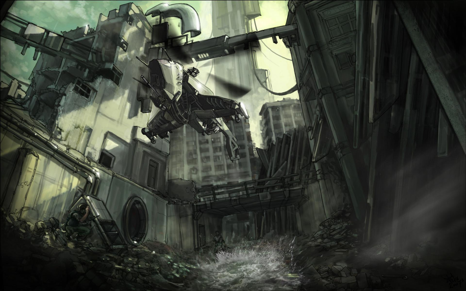 Half Life 2 Hd Wallpaper Background Image 1920x1200 Id 90939
