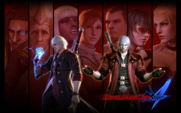 Video Game Devil May Cry 4 Devil May Cry Dante Nero HD Wallpaper | Background Image