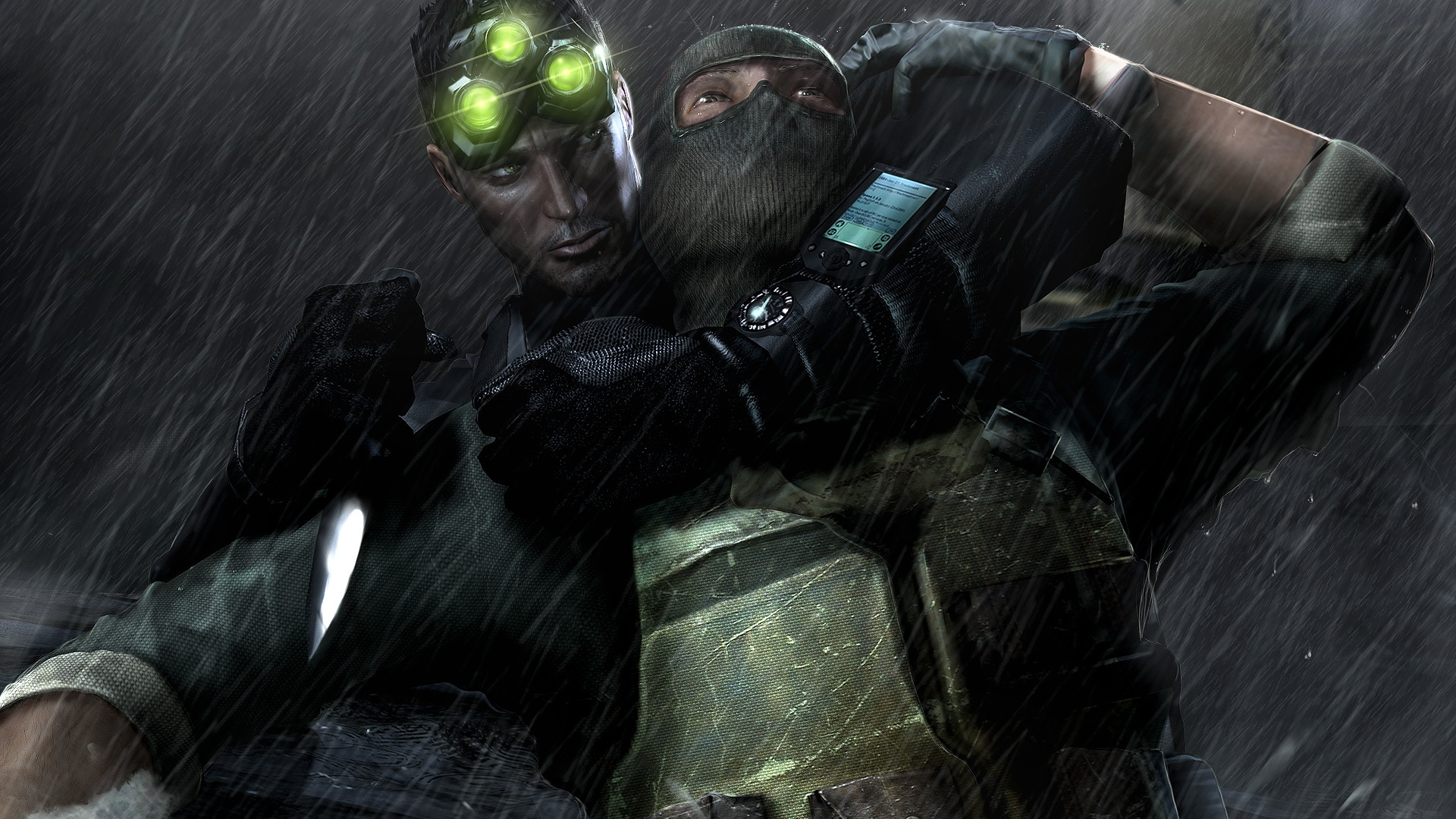 Tom clancy 39 s splinter cell chaos theory hd wallpaper background image 1920x1080 id 91009 - Chaos wallpaper ...