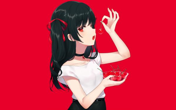 Anime Original Cherry HD Wallpaper | Background Image