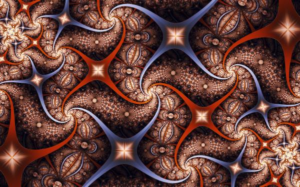 Abstract Fractal Artistic Digital Art HD Wallpaper | Background Image