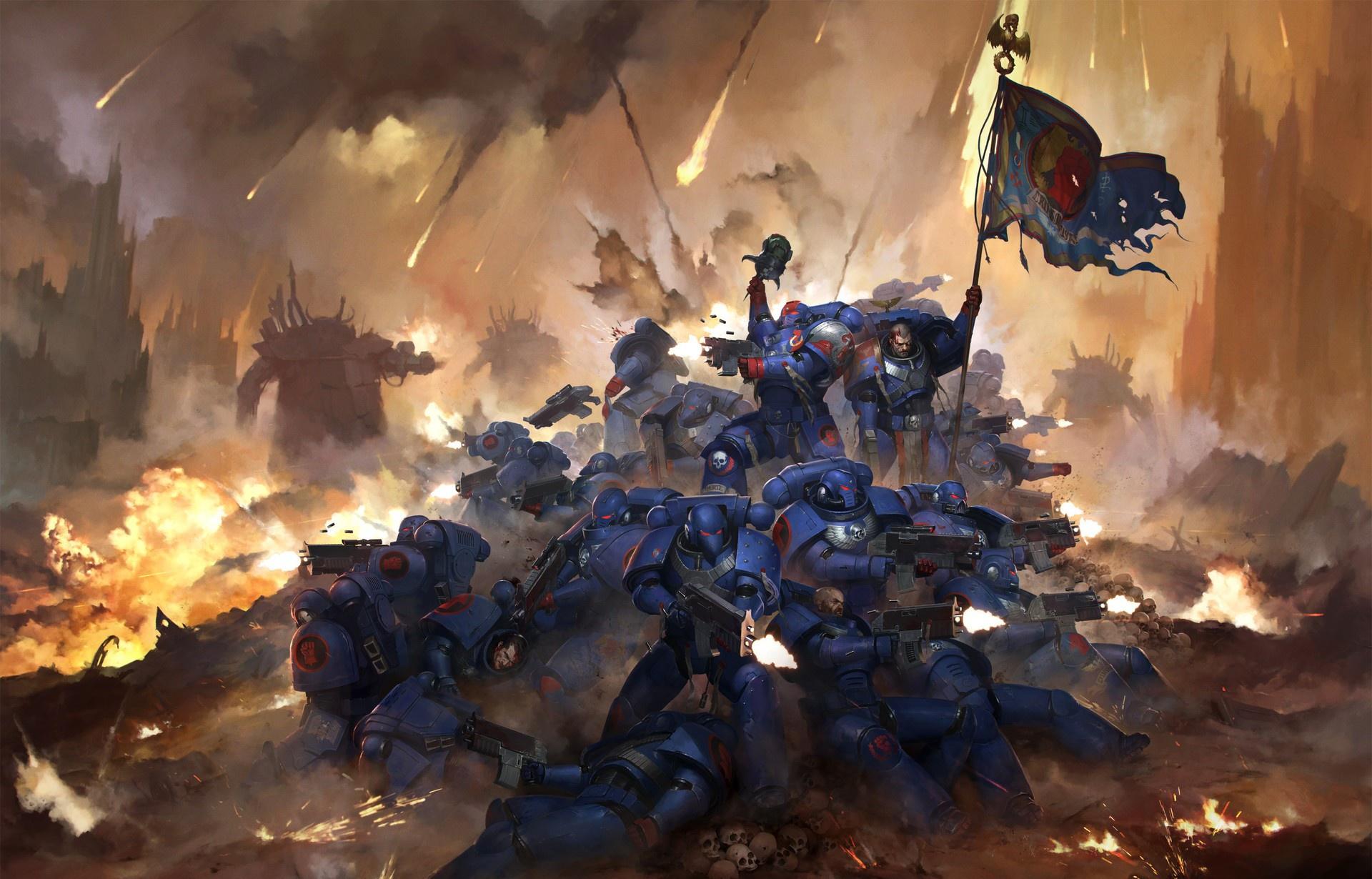 Warhammer 40k Hd Wallpaper Background Image 1920x1230 Id