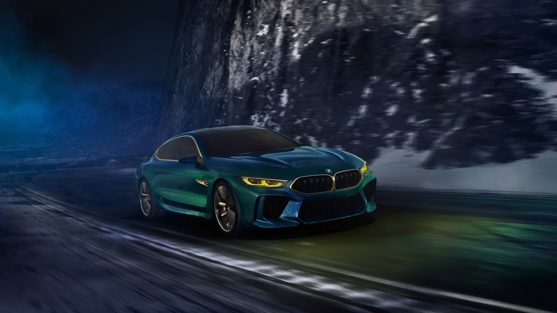 Bmw M8 Gran Coupe Hd Wallpaper Background Image