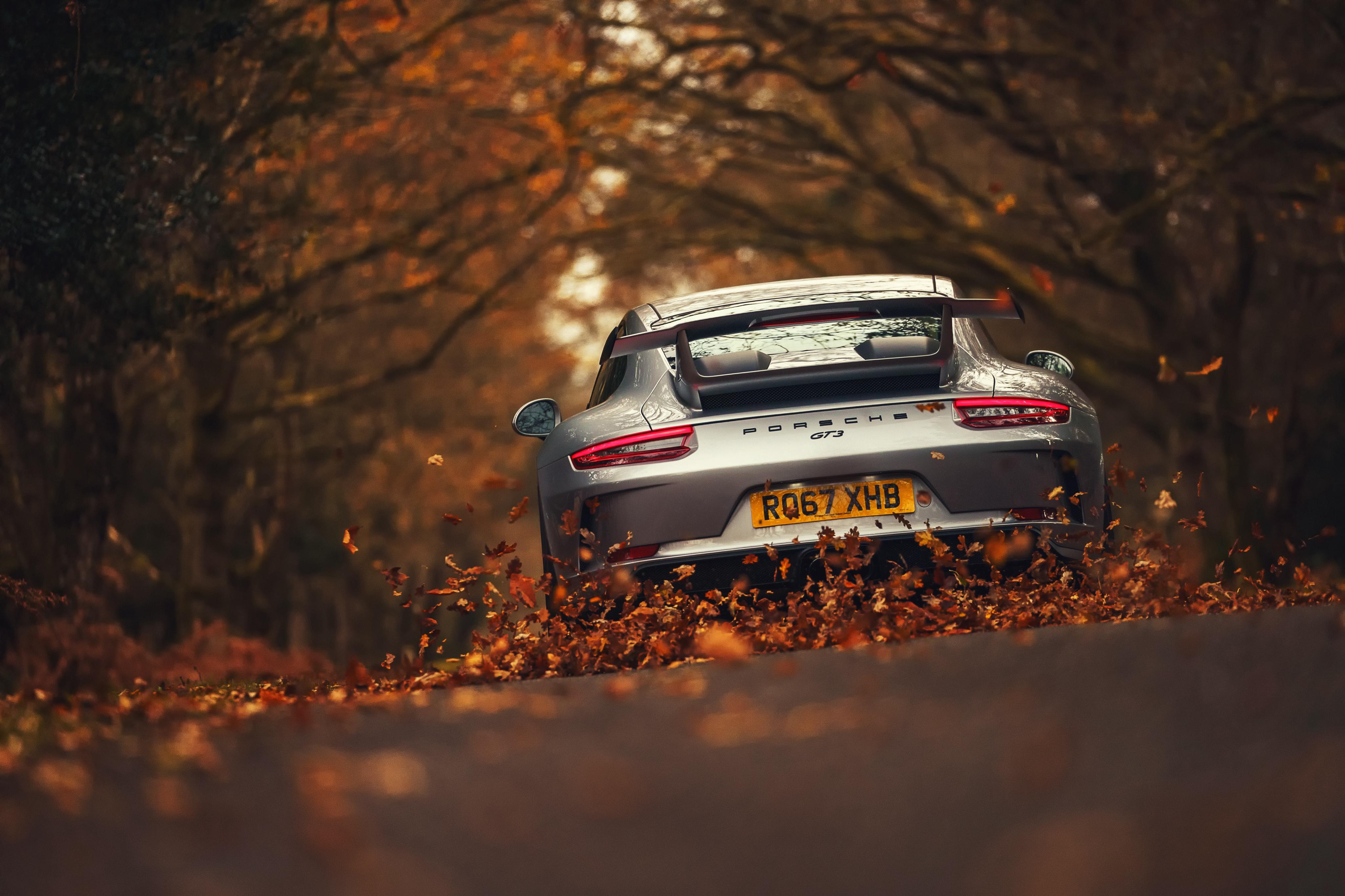 Porsche 911 Gt3 4k Ultra Fondo De Pantalla Hd Fondo De