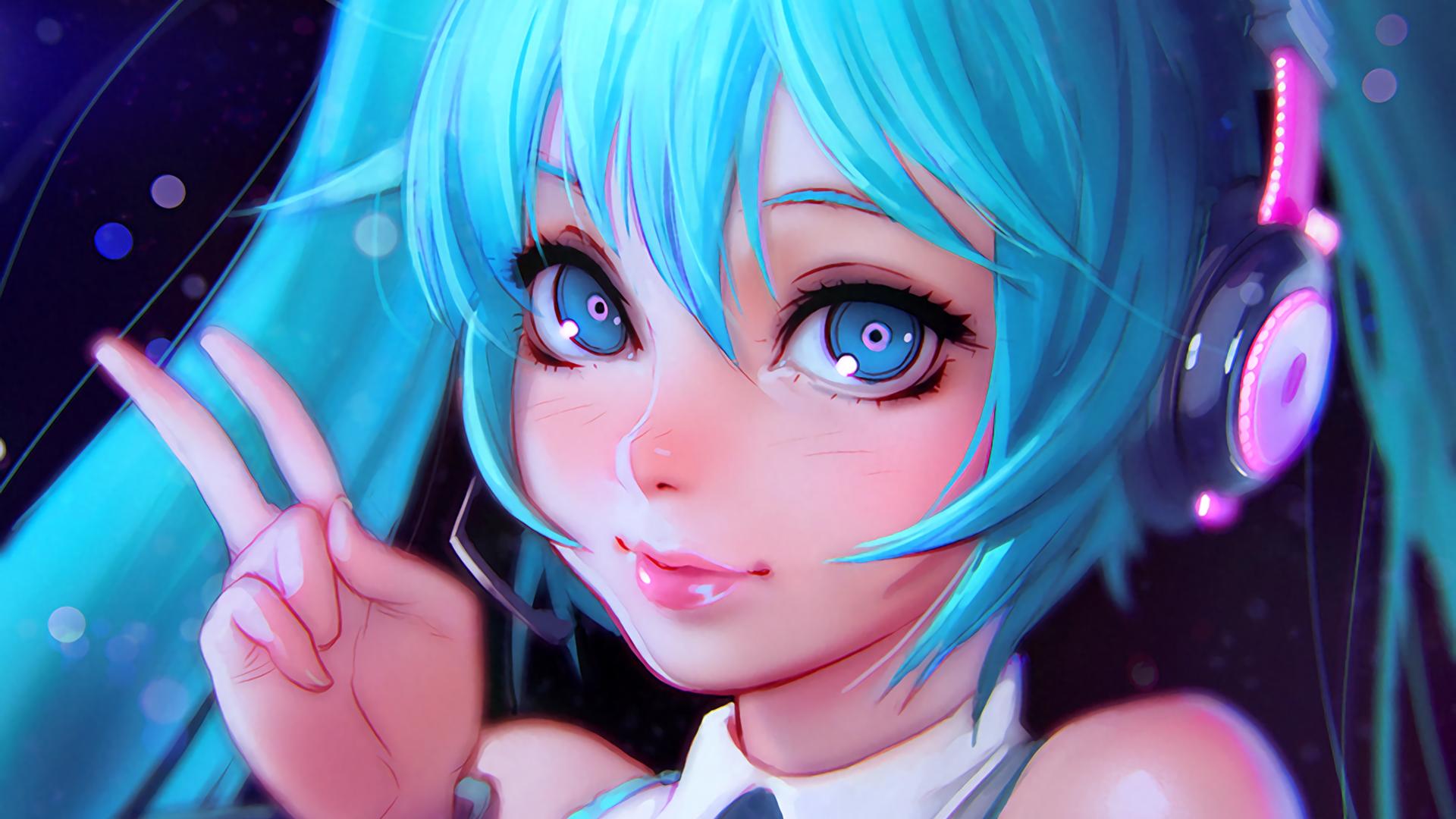 Vocaloid HD Wallpaper | Background Image | 1920x1080