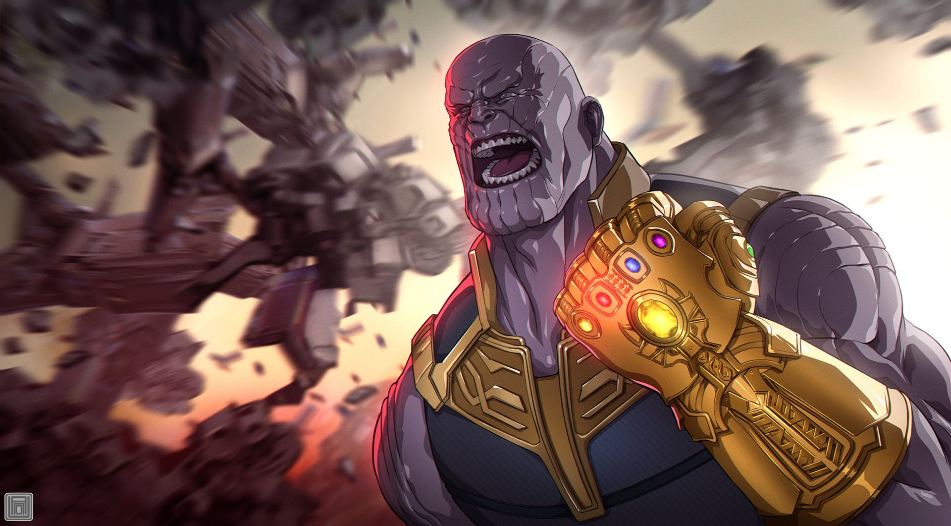 Comics - Thanos  Marvel Comics Wallpaper