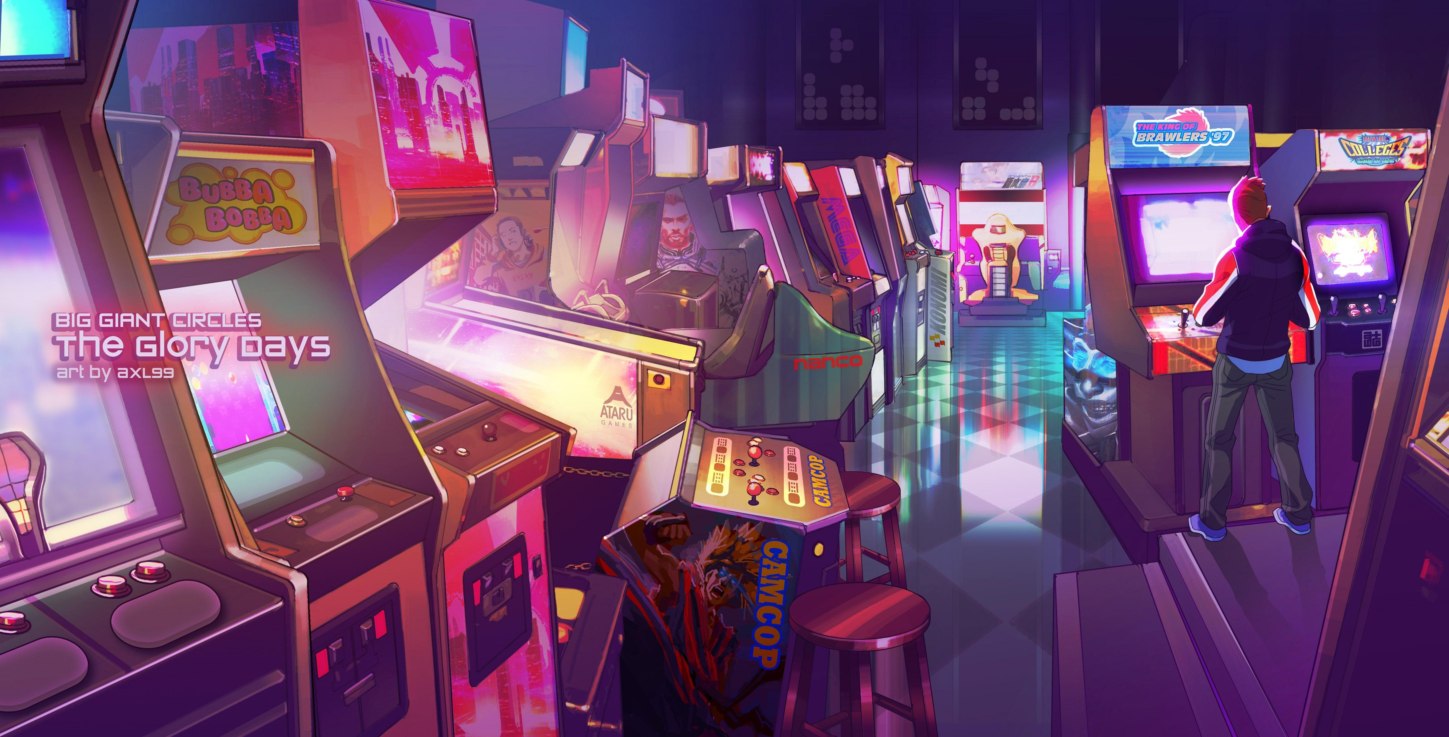 Arcade 4k Ultra Fondo De Pantalla Hd Fondo De Escritorio