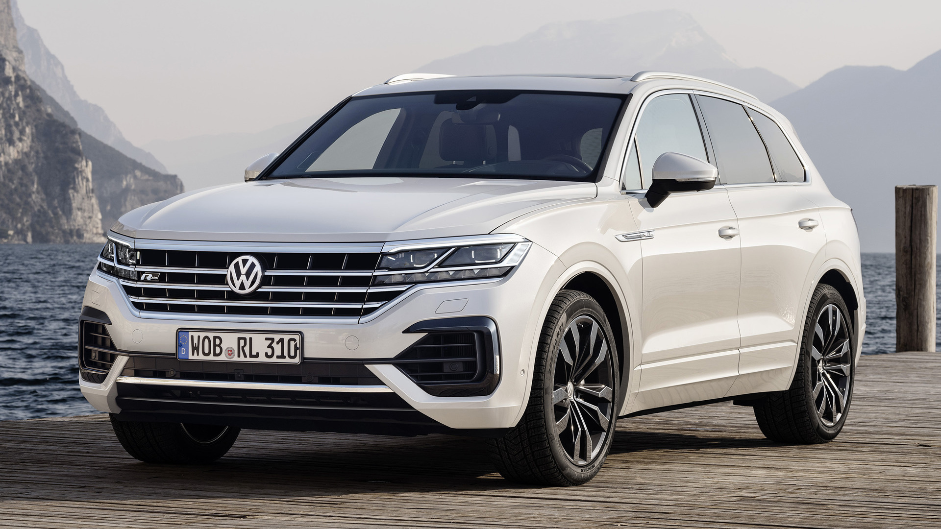 2018 volkswagen touareg r line full hd wallpaper and background image 1920x1080 id 920617. Black Bedroom Furniture Sets. Home Design Ideas